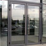 Hall d'entrée en aluminium